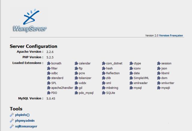 Wamp Server Versions